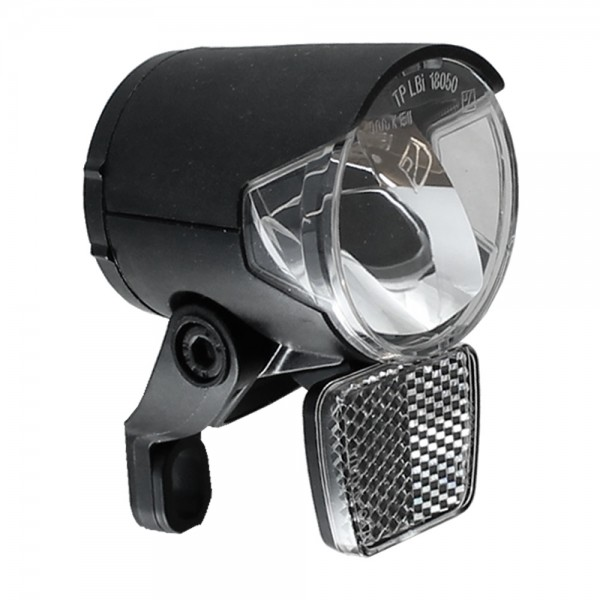LED headlight H-Black MR4 for Ebike- according to StVZO 120 lumens