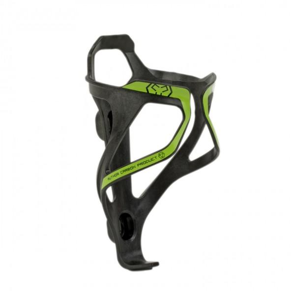 Fahrrad Flaschenhalter ACP-X26 Carbon 29 Gramm schwarz / grün