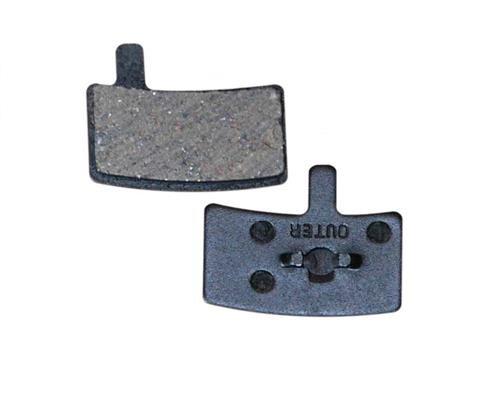 Bicycle brake pads ZT DK-45 Hayes Stroker Disc black 1 pair
