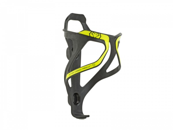 Bicycle bottle cage ACP-X26 Carbon 29 grams black / yellow