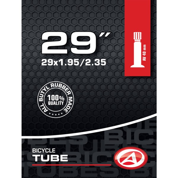 Bicycle tube 29 inch AV Schrader valve 40mm 50/58-622 MTB ATB